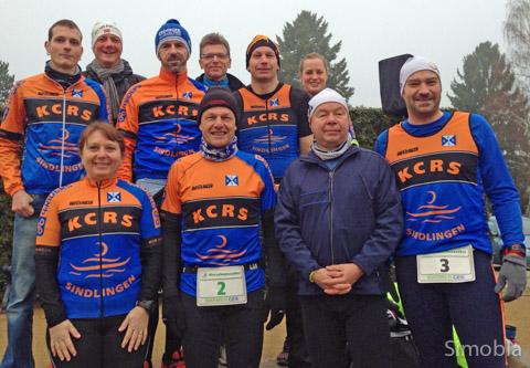 Die Triathleten des Kanuclubs Kapitän Romer beteiligten sich im Januar am Mörfelder Staffelmarathon. Foto: privat