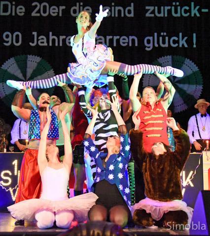 Krönender Abschluss einer tollen Zirkusshow: die Firestars.