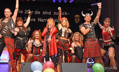 """""""We will rock you"""" versprachen die Hofheimer """"Zigeuner""""."""