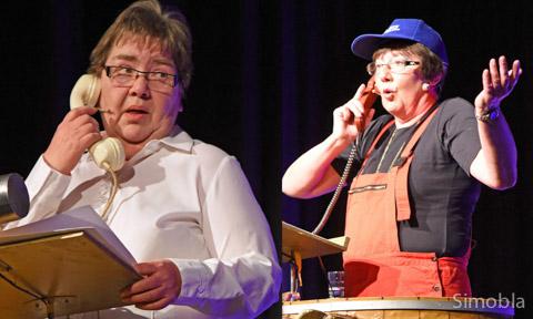 Zwiegespräch: Renate Metz (links) und Roswitha Adler.
