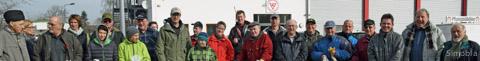 Mitglieder verschiedener Vereine beteiligten sich am Reinigungstag und sorgten für ein sauberes Sindlingen.