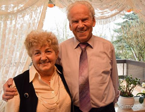 Seit 60 Jahren sind Elsa und Kurt Henrich glücklich verheiratet. Foto: Michael Sittig