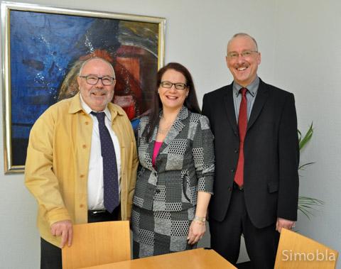 Sindlinger Anwälte: (von links) Dr. Robert Brehm, Alexandra Brehm-Kaiser und Thomas Klingenberger. Foto: Michael Sittig