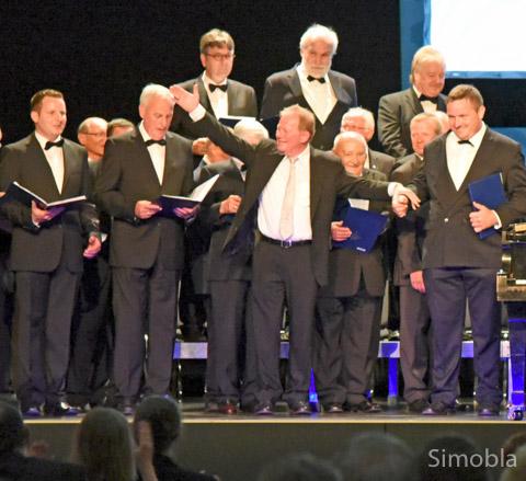 Germania Männerchor beim Konzert