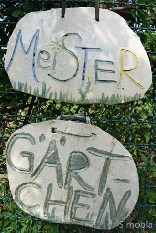 Töpferarbeiten gehören ebenfalls zum Programm der Garten-AG.Fotos: Michael Sittig
