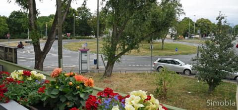 So sah er aus, bevor die Bagger kamen: Der Sindlinger Kreisel wird saniert, mit erheblichen Auswirkungen auf die Verkehrsführung während der Bauphase. Foto: Michael Sittig