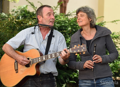 """Rovin' Folk"" Ali und Claudia Schmidt..."