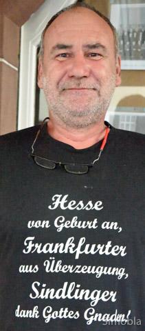 ...Matthias Schmidt  ist überzeugter Sindlinger...