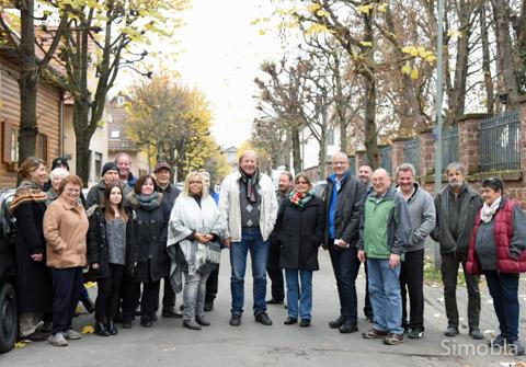 Die Lindenallee soll bleiben, fordern die Anwohner der Weinbergstraße. Foto: Michael Sittig