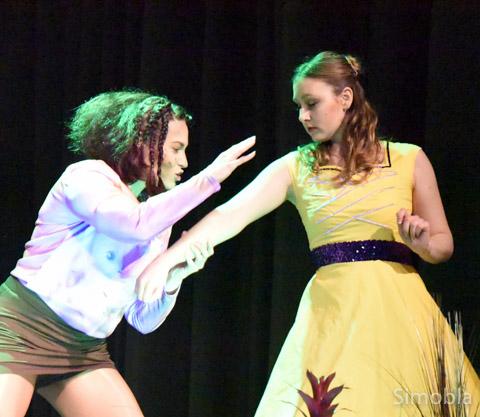 """Tolle Kostüme, tolle Choreographie: die """"Firestars"""" mit """"Tarzan""""."""