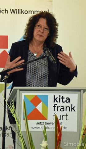 Bildungsdezernentin Sylvia Webe. Foto: Michael Sittig