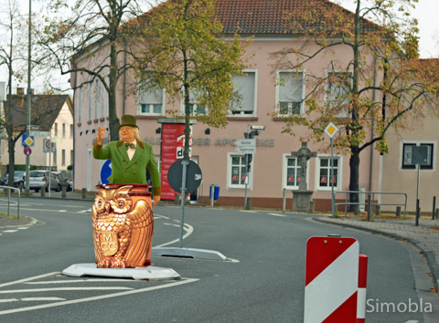 Da geht noch was: zum Beispiel eine Fastnachtsbütt' , meint Mario Gesiarz. Fotomontage: Michael Sittig
