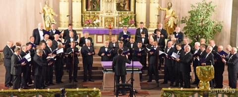 Der Männerchor Germania ist groß...