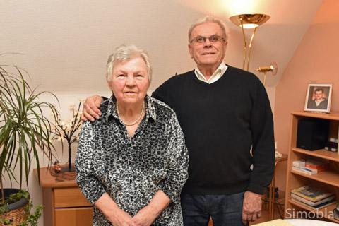 Edith und Kurt Mundrzik sind seit 60 Jahren verheiratet.  Foto: Michael Sittig