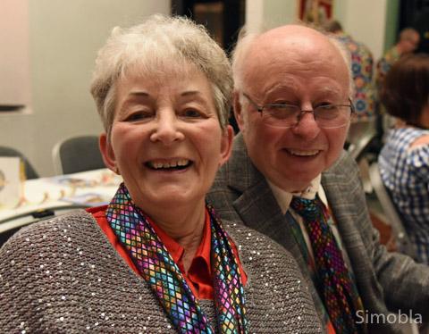 Die Prunksitzung des Karnevalvereins besuchen Gisela und Claus Lünzer jedes Jahr. Diesmal war sie besonders gelungen, fanden die beiden Goldhochzeiter, die sich vor 50 Jahren das Ja-Wort gaben. Foto: Michael Sittig