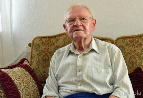 Franz Pickel lebt seit 90 Jahren in Sindlingen. Foto: Michael Sittig