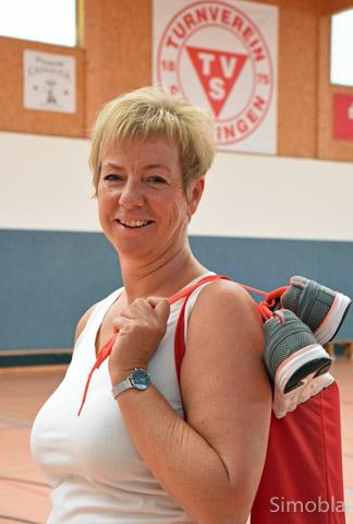 Ulrike Grohmann kümmert sich um die Fitness- und Gesundheitskurse im Turnverein. Foto: Michael Sittig